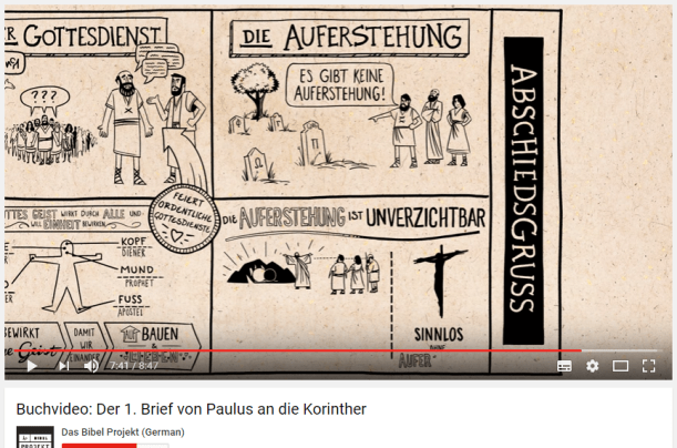 Das Bibel Projekt - 1. Korinther Video